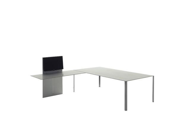 Less less jean nouvel design for Table extensible tournante