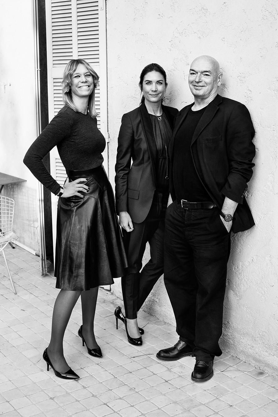 Bolon architect friend jean nouvel design for Jean nouvel design
