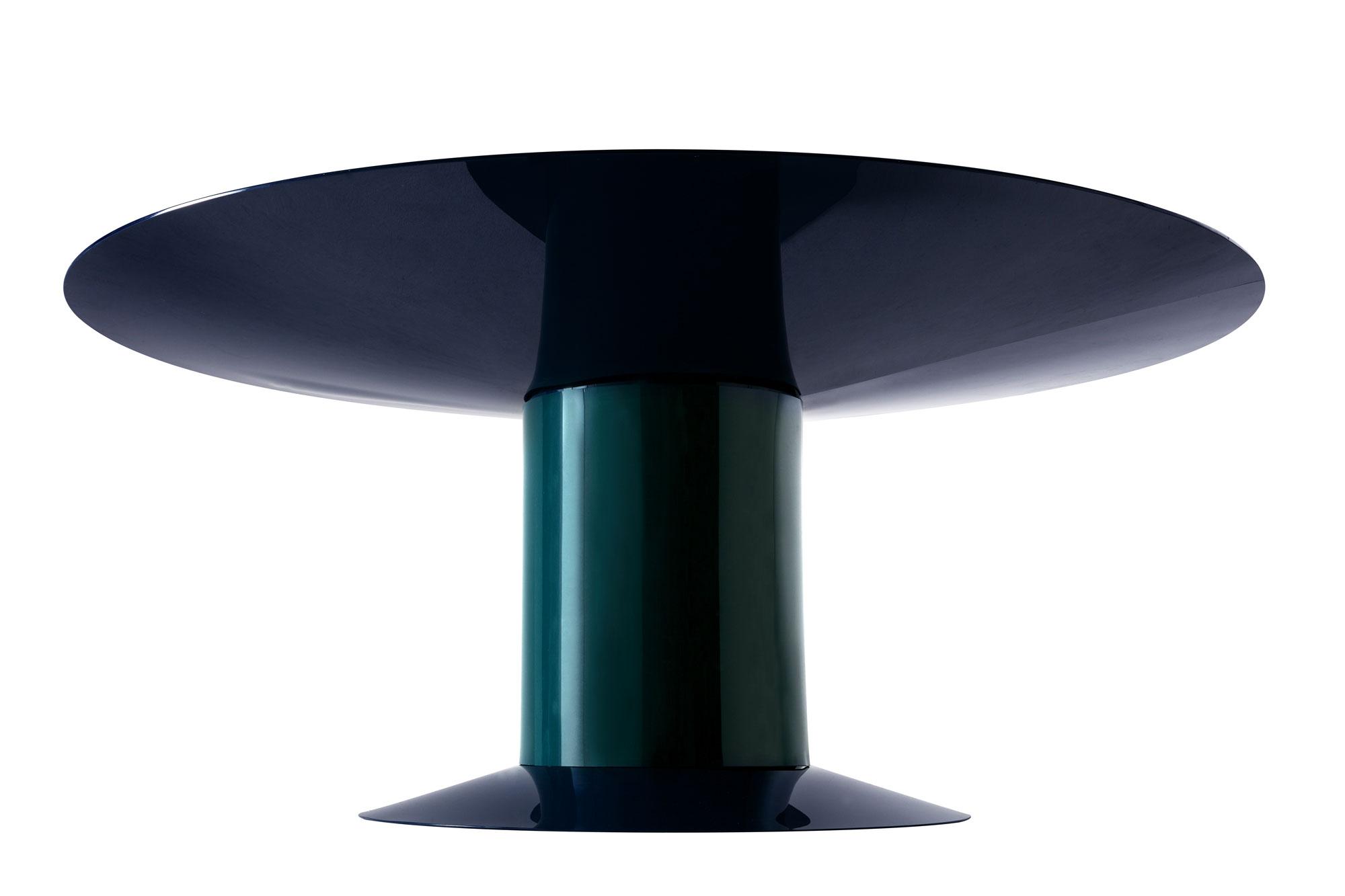 Li da jean nouvel design for Table marbre roche bobois